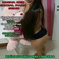 RED SOCIAL PARA SEXO JOVENCITA BUSCA TRÍO URGENTE